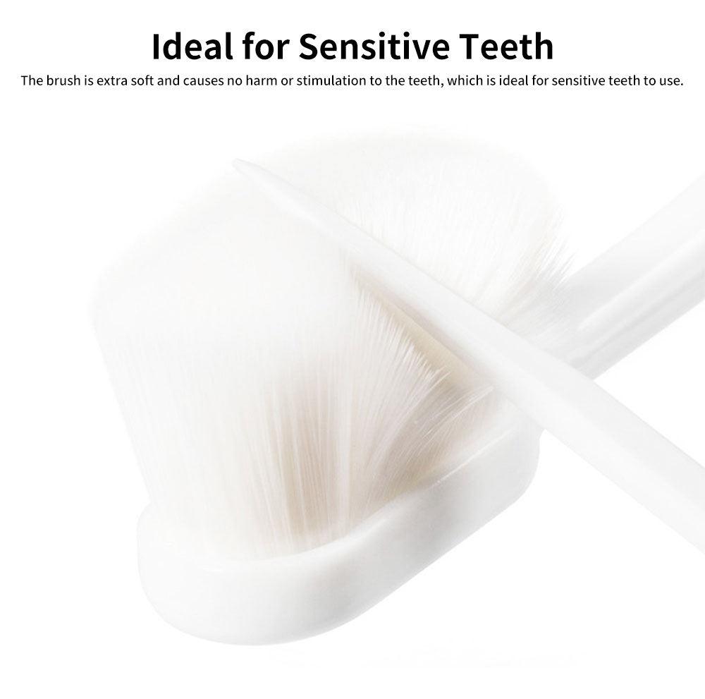 Toothbrush for Pregnant Women, Safe Soft Sensitive High-density Maternity Protection Toothbrush for Teeth Cleaning 3