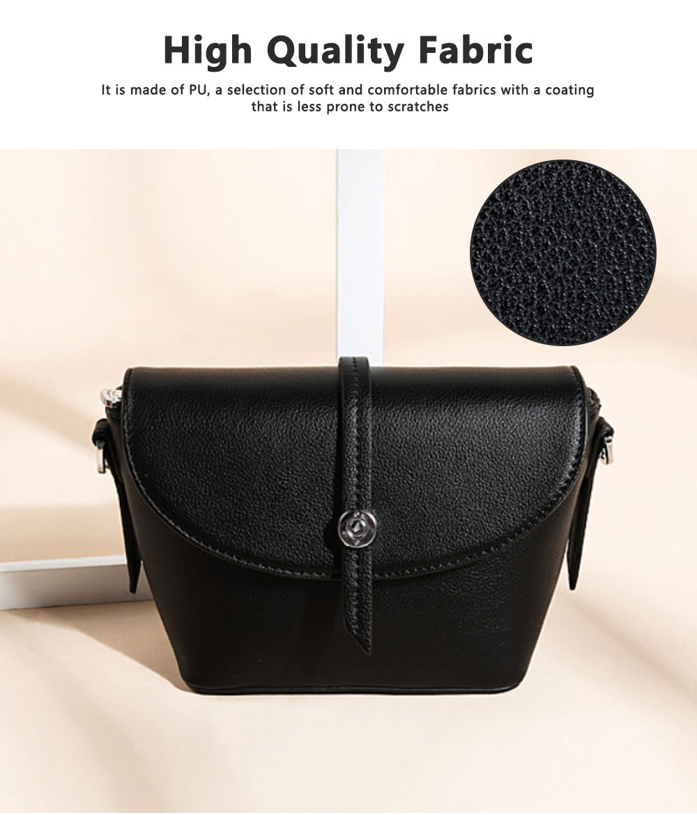 New Design Messenger Small Ladies Square Package Box Retro Leather Handbag Shoulder Diagonal, Women Single Casual Bag 1