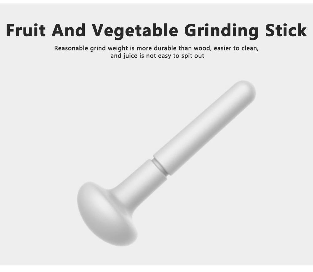 Portable Multi-functional Reusable Baby Food Blender Processor Set Maker Grinder Fruit Vegetable Meat Manual Making Homemade 3