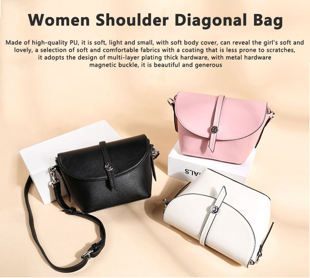 New Design Messenger Small Ladies Square Package Box Retro Leather Handbag Shoulder Diagonal, Women Single Casual Bag 0