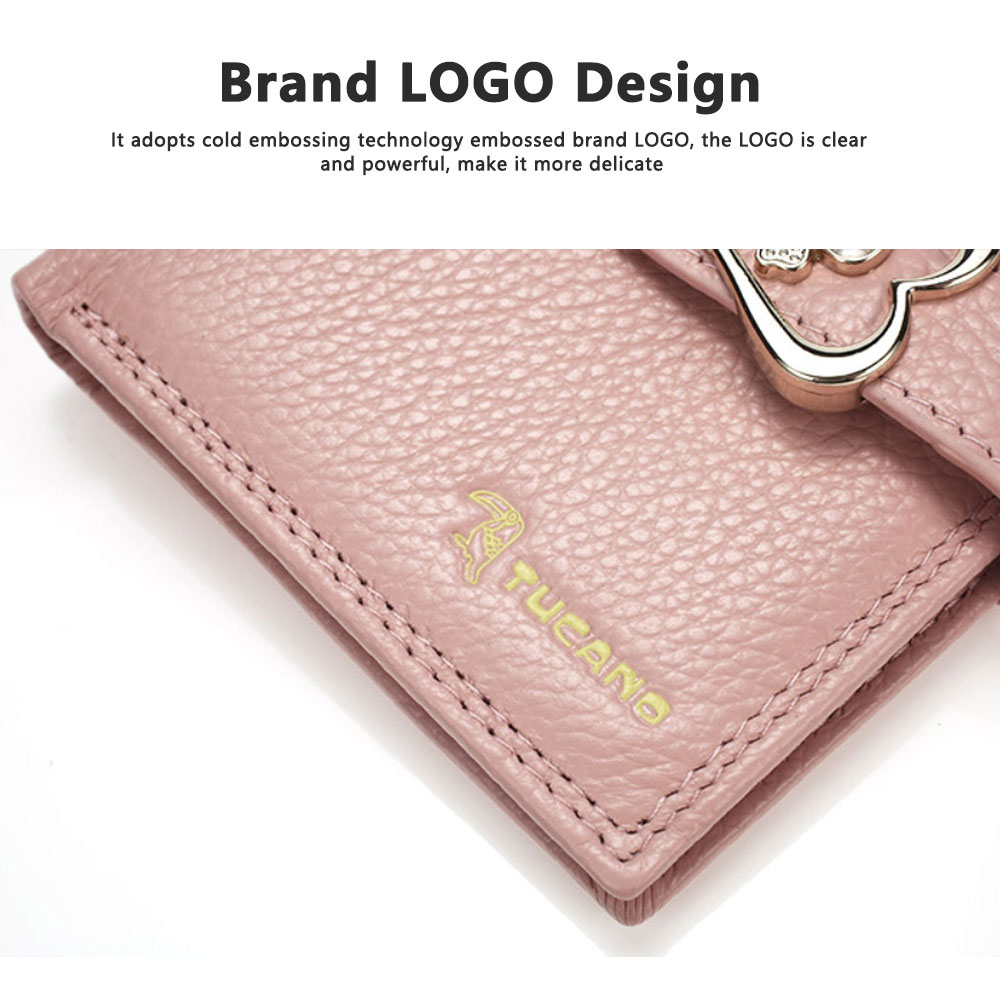 Fashion Women Wallet Girl Mini Cowhide Short Coin Leather Bow Vertical And Horizontal Purse Credit Card Holder Organizer Pocket Classic Solid 2 Fold Type 4