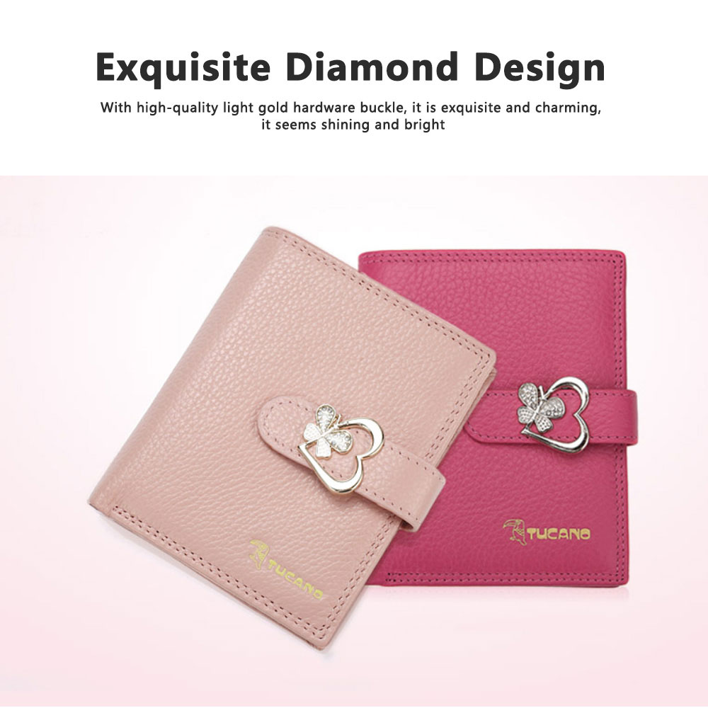 Fashion Women Wallet Girl Mini Cowhide Short Coin Leather Bow Vertical And Horizontal Purse Credit Card Holder Organizer Pocket Classic Solid 2 Fold Type 3