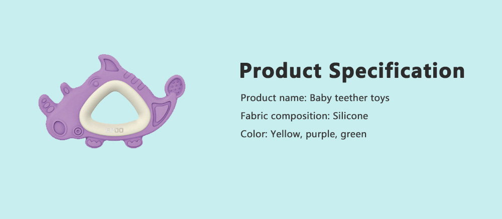 Hot Sell New Design Baby Teether Toys Soft Molars Solid Safe Food Grade Organic High Quality Silicone Teething 4