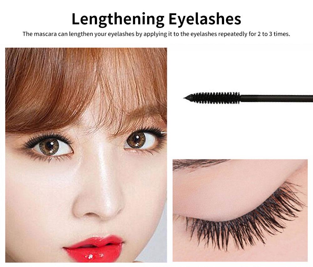 Water-proof Long Lasting Mascara, Lengthening Thickening Curving Volume Mascara, Black Eyelashes Make-up 1