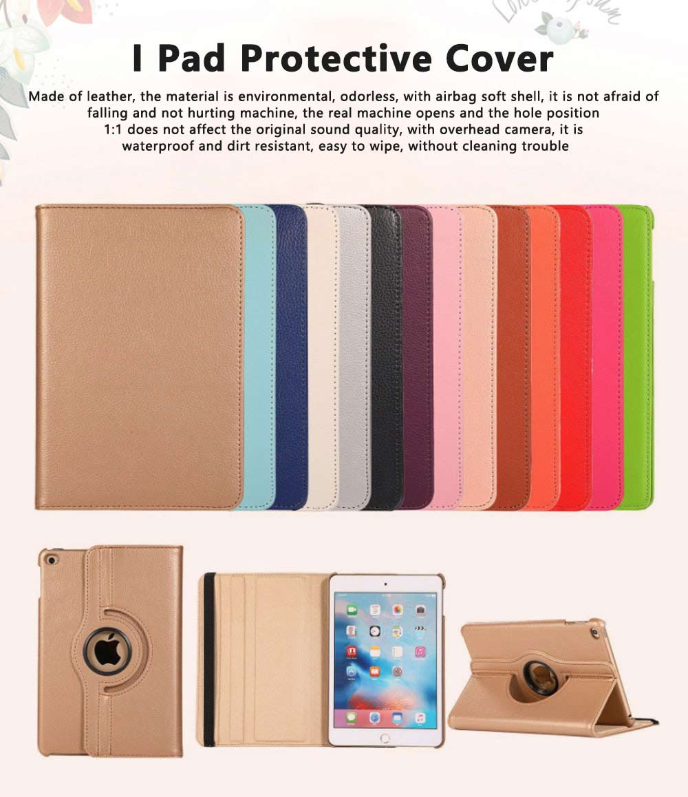 Smart PU Leather Flip Protective Cover Case Tablet Shell for New Apple iPad Mini 5 Mini 4 2019 With Auto Wake sleep Stand Case 0