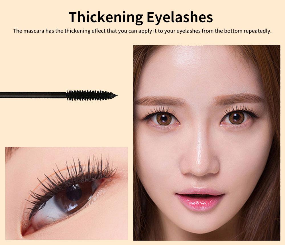 Water-proof Long Lasting Mascara, Lengthening Thickening Curving Volume Mascara, Black Eyelashes Make-up 2