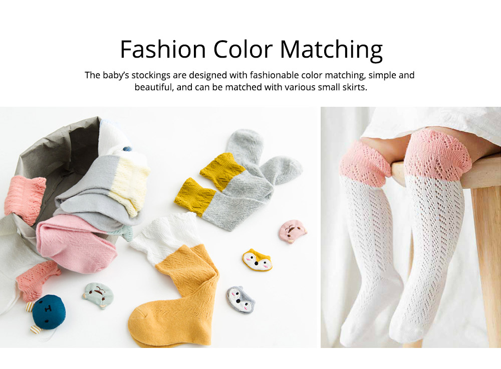 Baby Stockings All Cotton Mesh Breathable Loop Transfer Leggings Anti-mosquito Stockings Spring Summer New 3