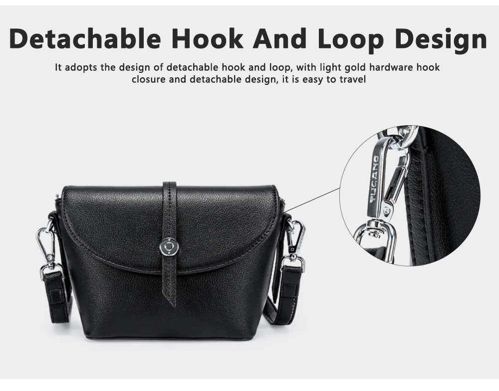 New Design Messenger Small Ladies Square Package Box Retro Leather Handbag Shoulder Diagonal, Women Single Casual Bag 7