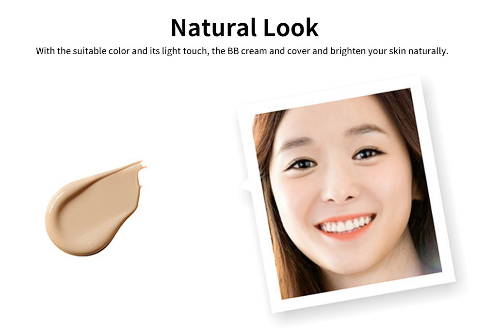 BB Cream Cushion Moisturizing Hydrating Covering Oil-control Make-up Foundation, Long Lasting CC Face Cream Concealer 3