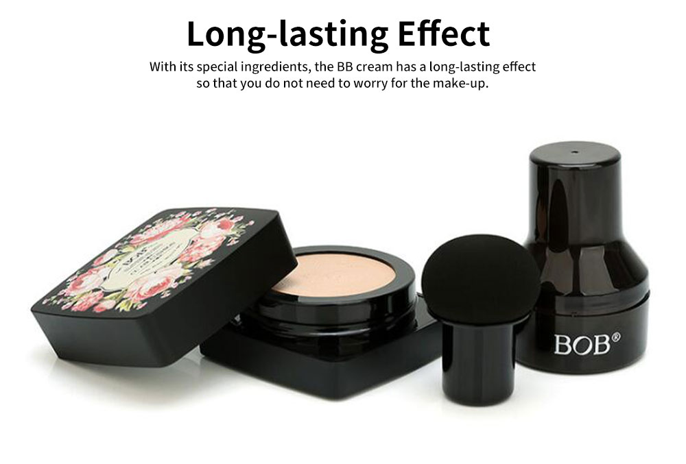 BB Cream Cushion Moisturizing Hydrating Covering Oil-control Make-up Foundation, Long Lasting CC Face Cream Concealer 4