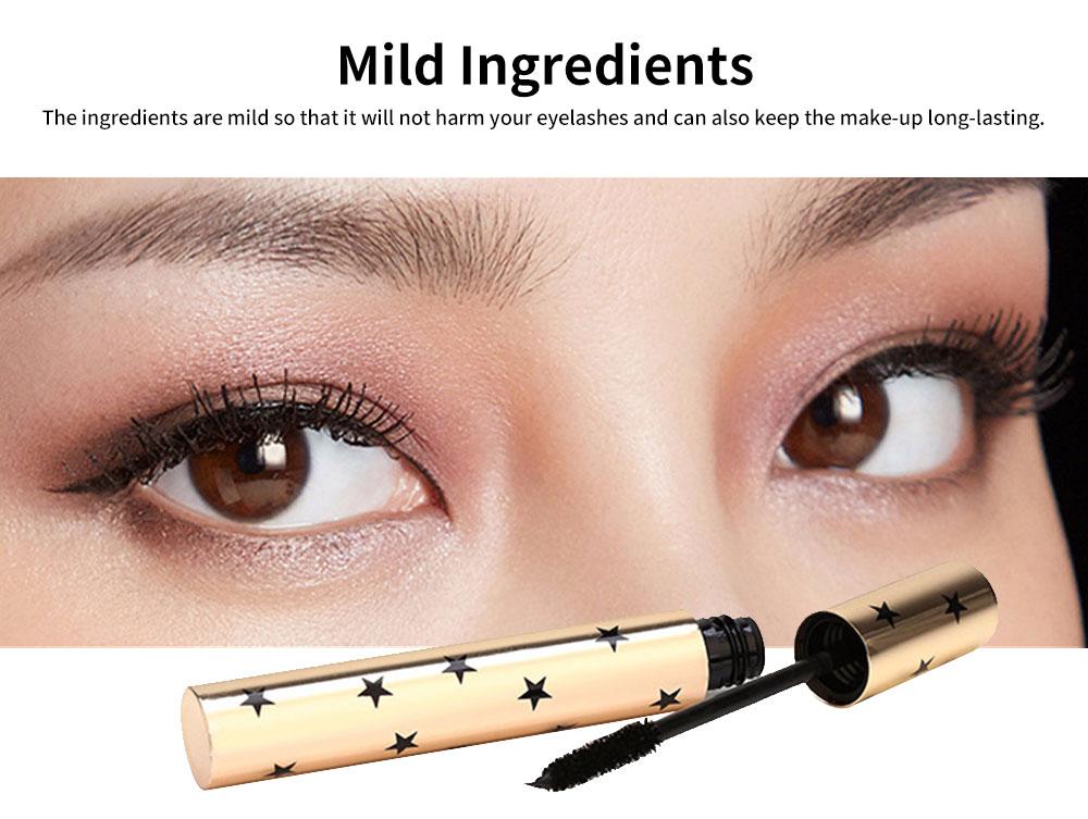 Water-proof Long Lasting Mascara, Lengthening Thickening Curving Volume Mascara, Black Eyelashes Make-up 5