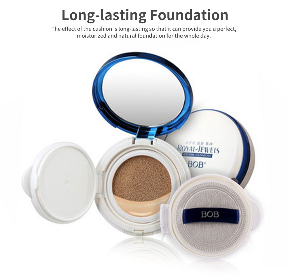BB Cream Air Cushion Cover Moisturizing Hydrating Makeup Foundation Concealer Light Long Lasting Face Cushion 4