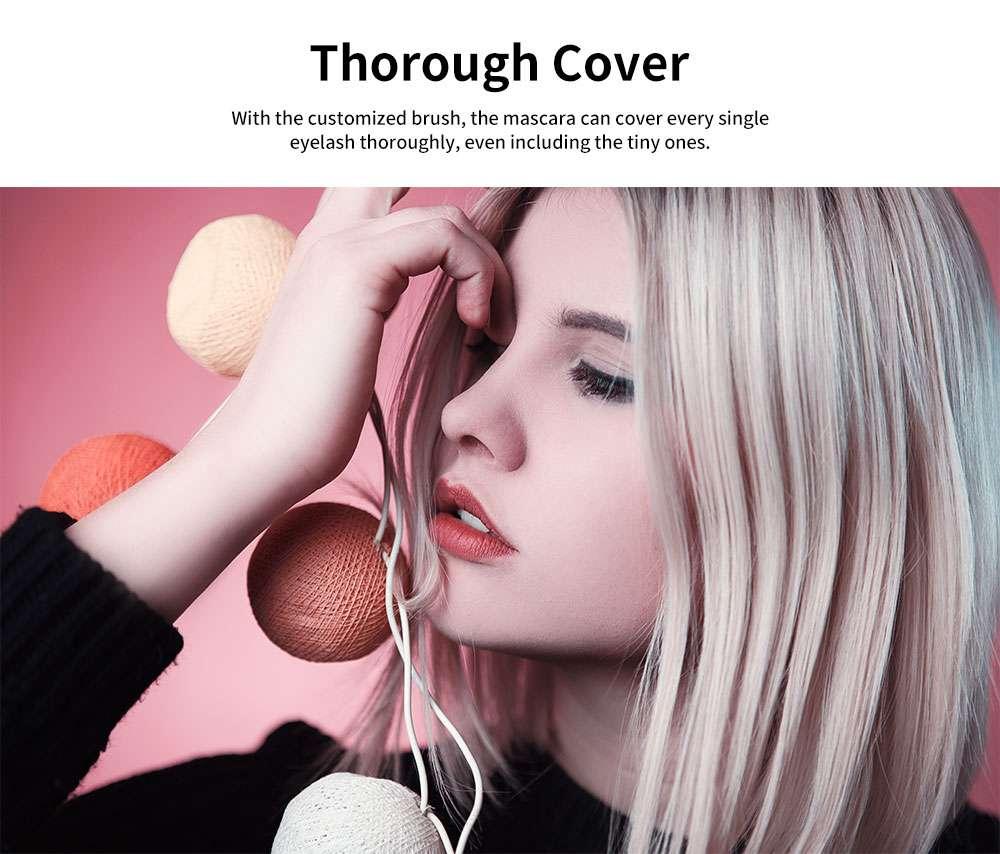 Water & Sweat-proof Mascara, Black Long Lasting Lengthening Thickening Curving Volume Eyelashes Make-up Mascara 1