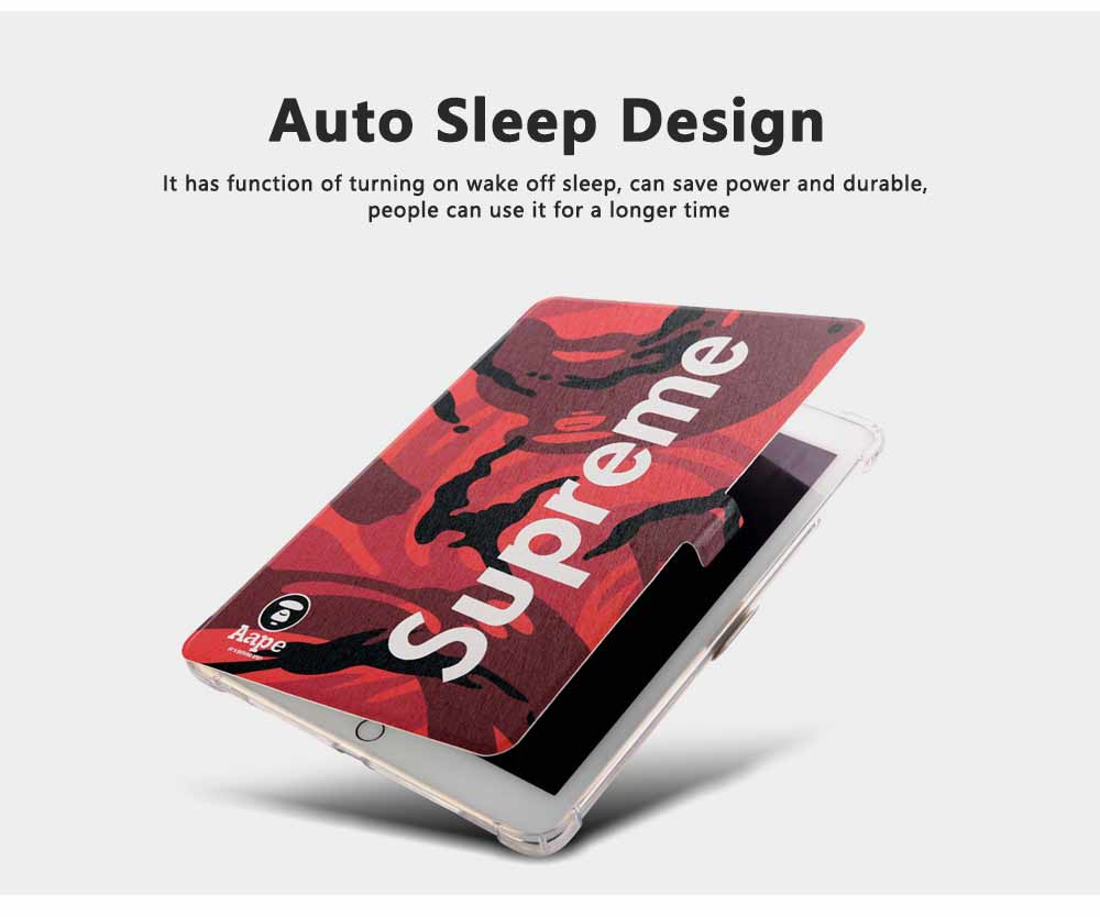 Auto Sleep Wake Function Ultra Thin All Inclusive Soft Silicone Pu Leather Tablet Protective Case For Apple ipad mini 4, mini 3, air 2, mini 2, ipad 5 or 6 Shell 3