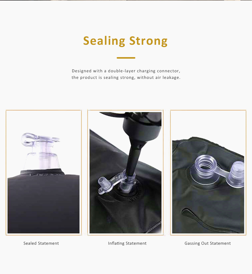 High Quality SUV Air Bed In-car for Traveling Camping Outdoor Activities, Flocking Fabric Sports Car Travel Mattress 4
