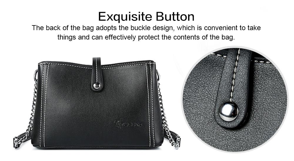 2019 New Fashion Chain Women Cross shoulder Bag Korea-style Contracted Sling Bag  Personality Fashion handBag 3