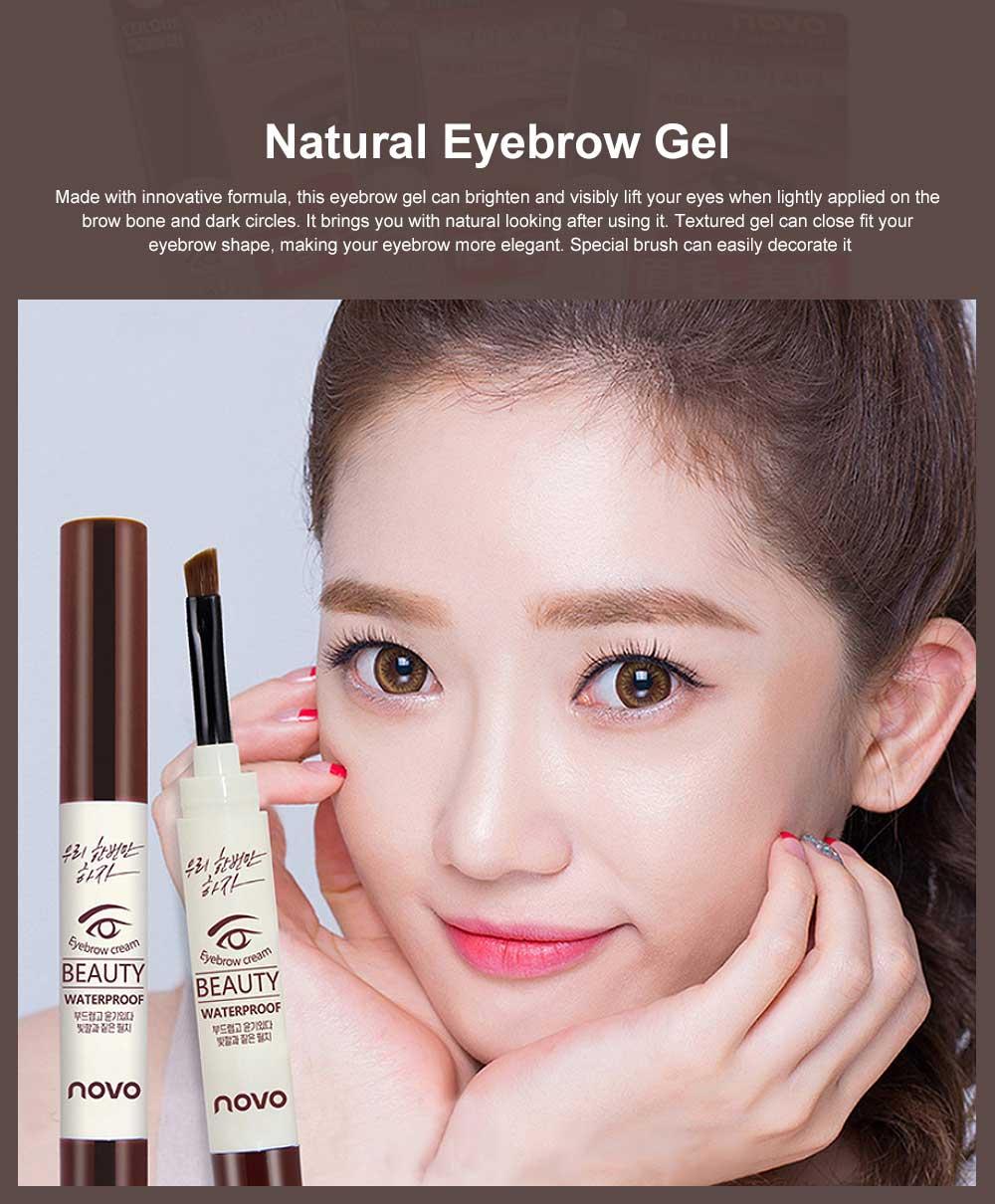 Natural Eyebrow Gel Waterproof Ink Gel Tint Makeup Tool Long Lasting Smudge-Proof Defined Eyebrow Cosmetic 0
