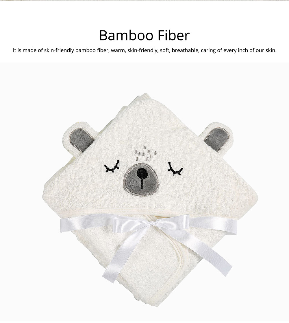 Printing and Dyeing Bath Towel for Baby, Environment Friendly Multi-function Three-dimensional Embroidery Bathroom Ware 5