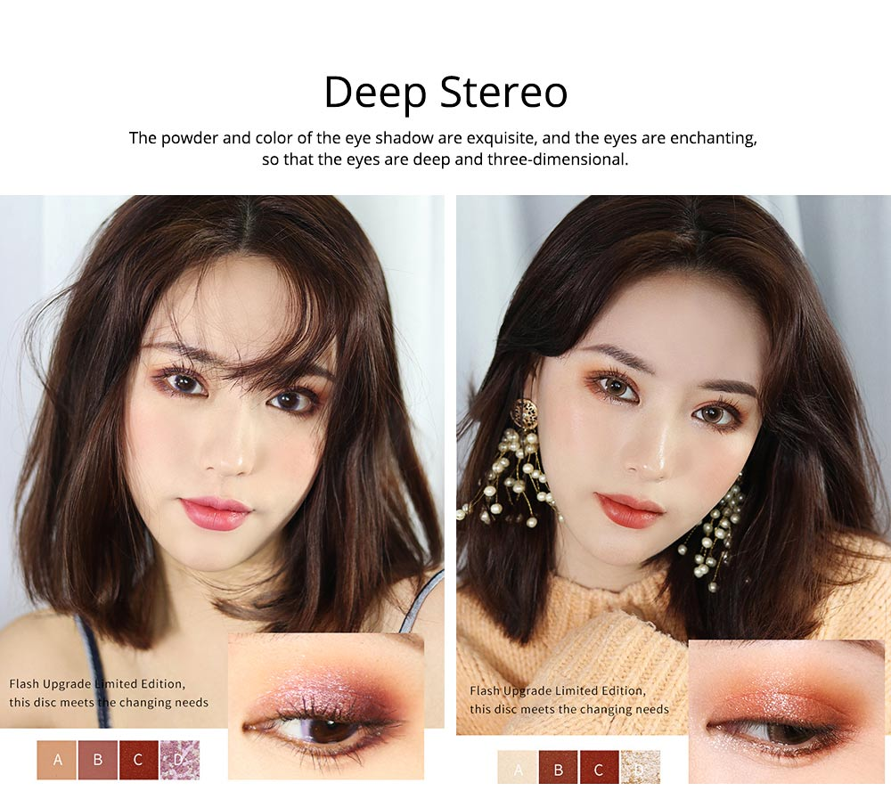 Tang Makeup Style Princess Eye Shadow Disc for Students Beginners Parity Unicorn Eyeshadow Disc 4