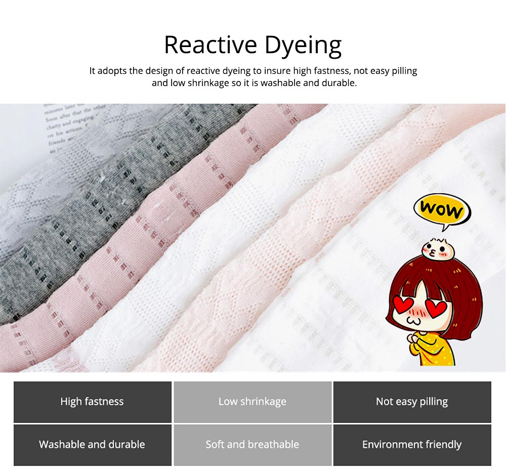 Children's Leggings for 0-3 Years Old Baby Reactive Dyeing Elastic Waist Wear-resisting Sole Skin-friendly and Comfortable Pantyhose 1