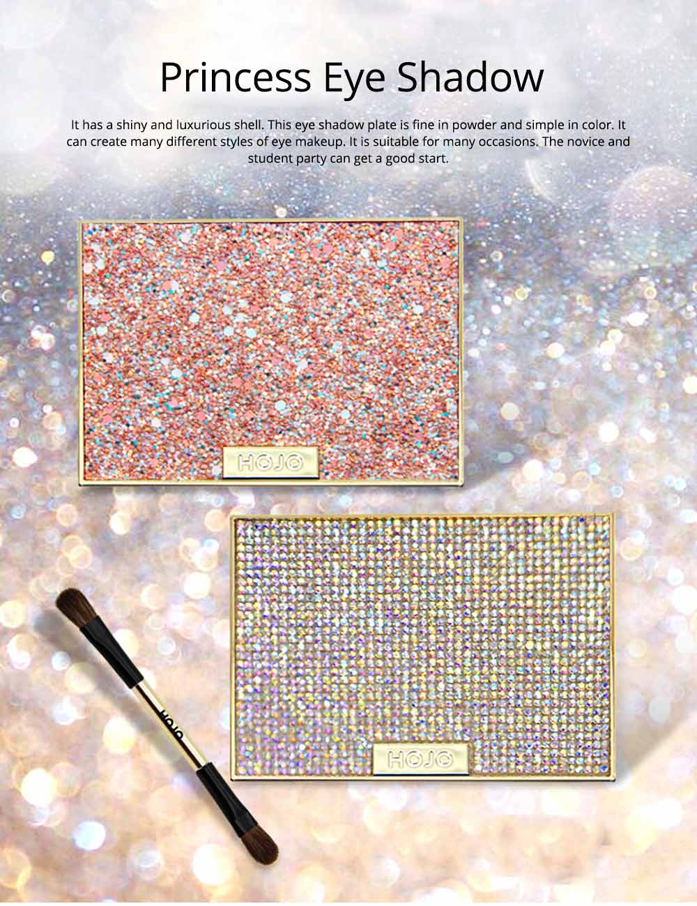 Tang Makeup Style Princess Eye Shadow Disc for Students Beginners Parity Unicorn Eyeshadow Disc 0