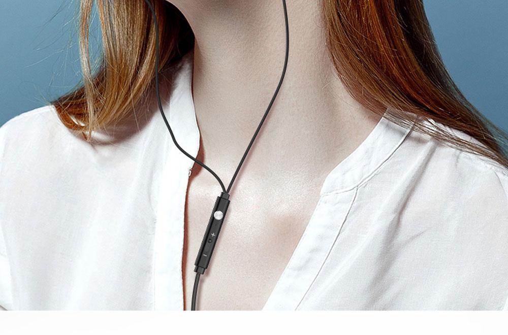 Quality Minimalist Mega Bass HIFI Music In-ear Earphone, Solid Metal Wired Earphone with Three Size Ear Caps 1