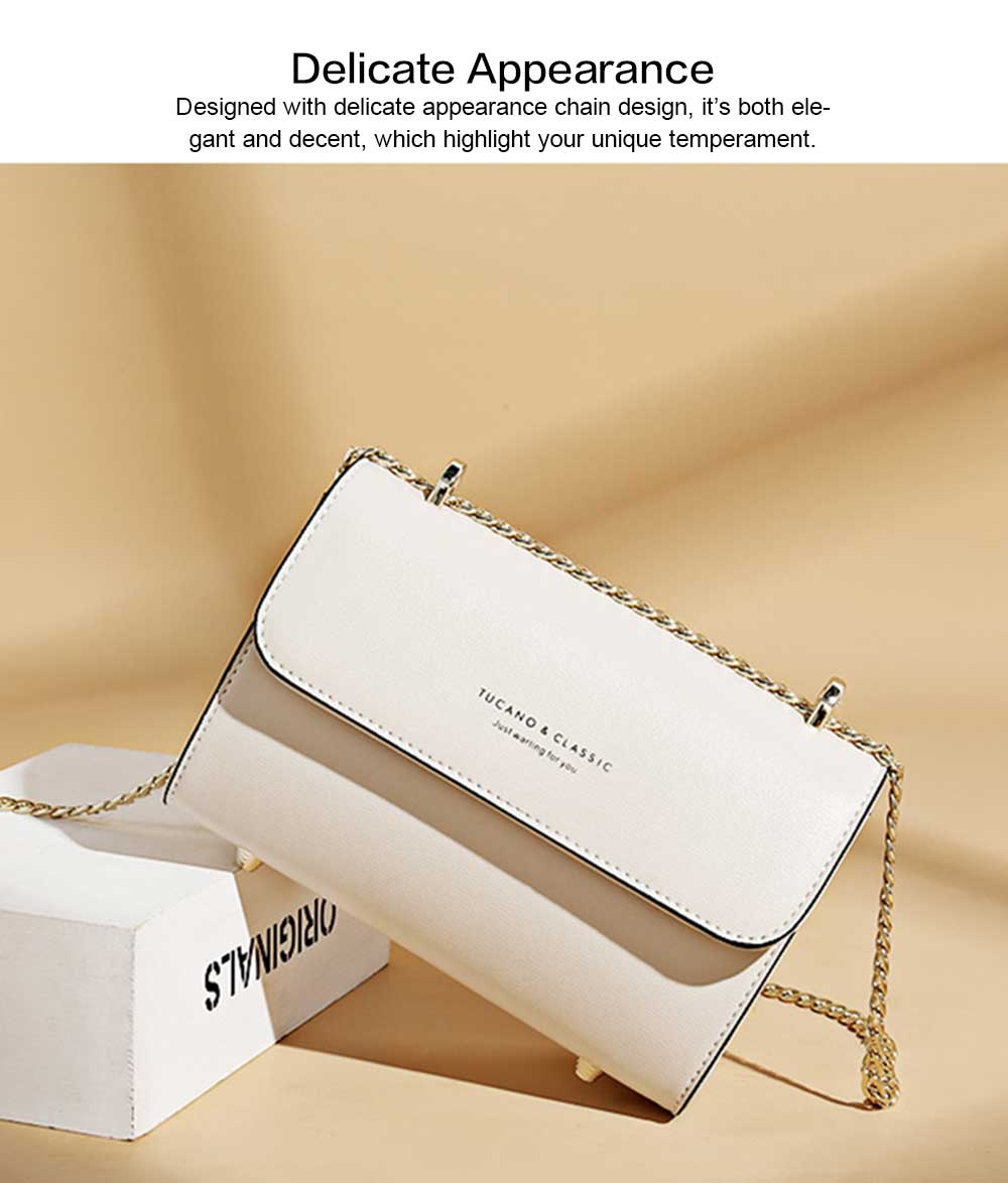 2019 New Designed Women handBag Stylish CK Chain Bag for Women Mini Cross Shoulder Square Bag 1