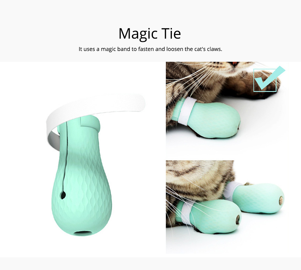 Anti-scratch Bite and Wash Cat Bags Feet Holder Cover for Cutting Nails or Bathing Cat Feet Holding Artifacts Pet Products 1