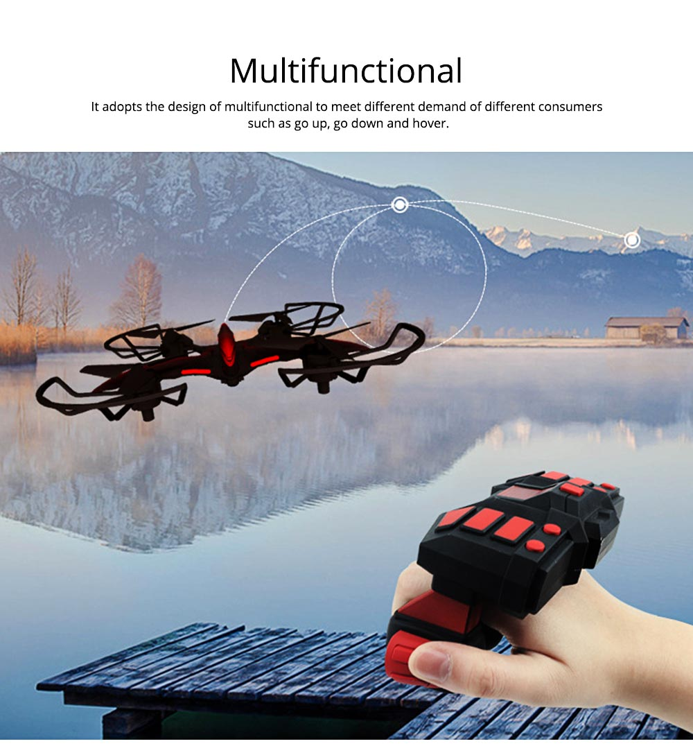 WIFI Aerial Vehicle for Photography Enthusiast Multifunctional Flying Camera with HD Camera Handle Shank Aerial Photo Machine 1