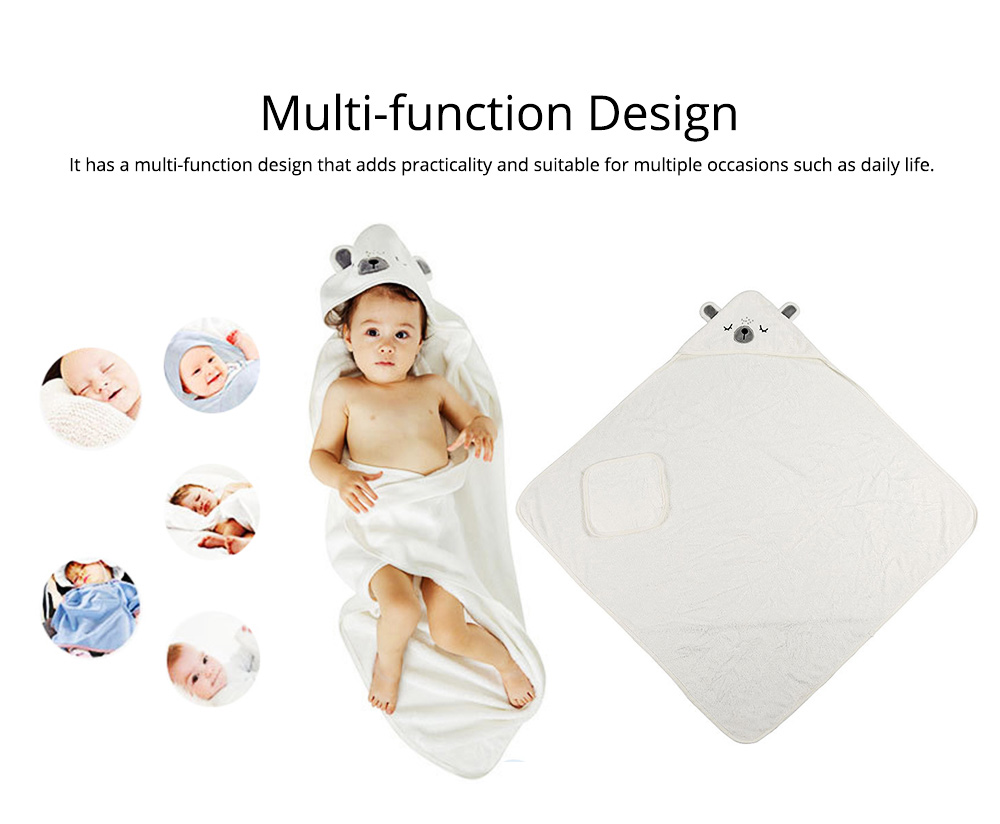 Printing and Dyeing Bath Towel for Baby, Environment Friendly Multi-function Three-dimensional Embroidery Bathroom Ware 2