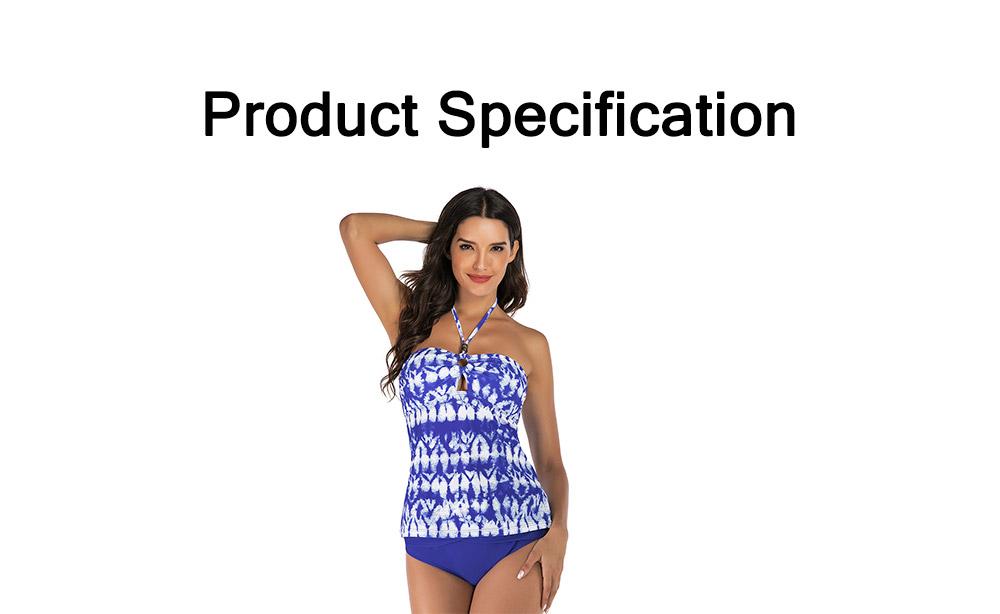 Fancy Sexy Painting Separates Adjustable Strap Swimsuit Bikini Stylish Triangle Swim Briefs Ladies Bikini 6