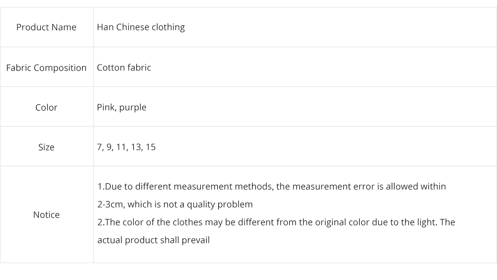 Han Chinese Clothing for Girls V Collar Flower Adornment Ribbon Chinese Characteristics Skin-friendly and Comfortable Dress 7