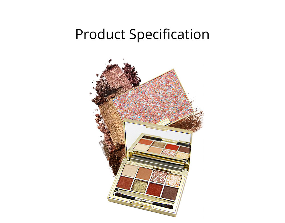 Tang Makeup Style Princess Eye Shadow Disc for Students Beginners Parity Unicorn Eyeshadow Disc 6