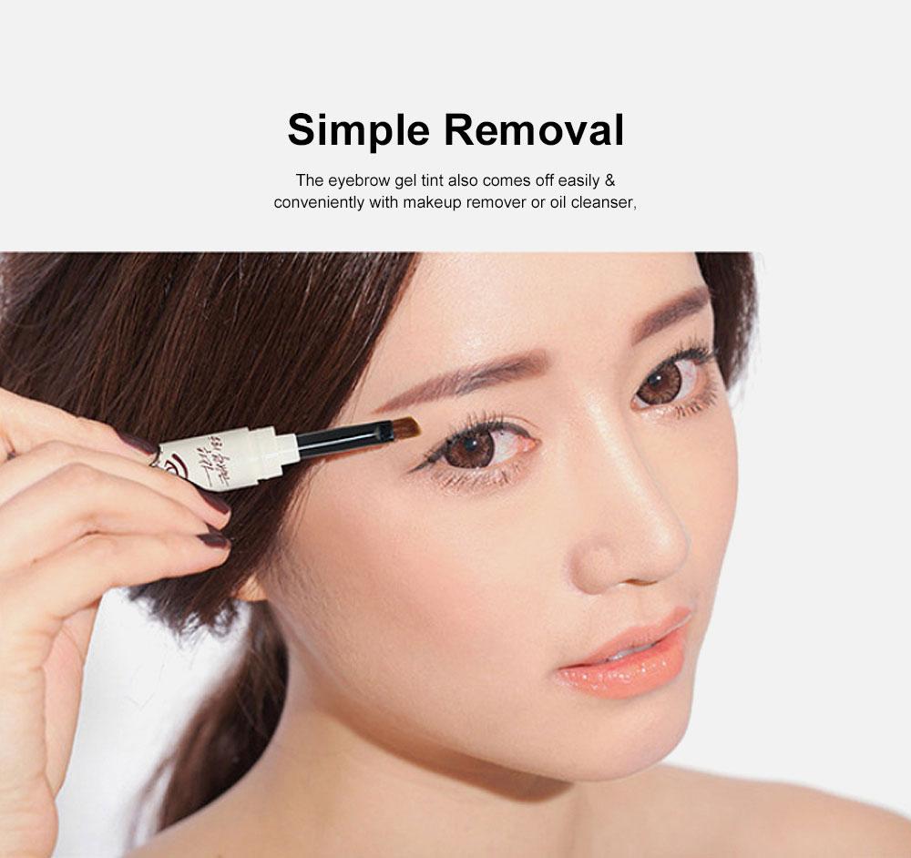 Natural Eyebrow Gel Waterproof Ink Gel Tint Makeup Tool Long Lasting Smudge-Proof Defined Eyebrow Cosmetic 2