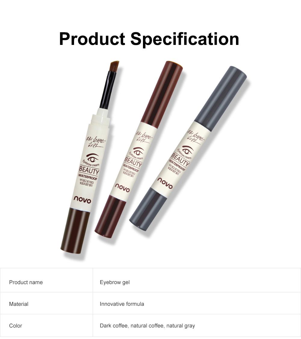 Natural Eyebrow Gel Waterproof Ink Gel Tint Makeup Tool Long Lasting Smudge-Proof Defined Eyebrow Cosmetic 7
