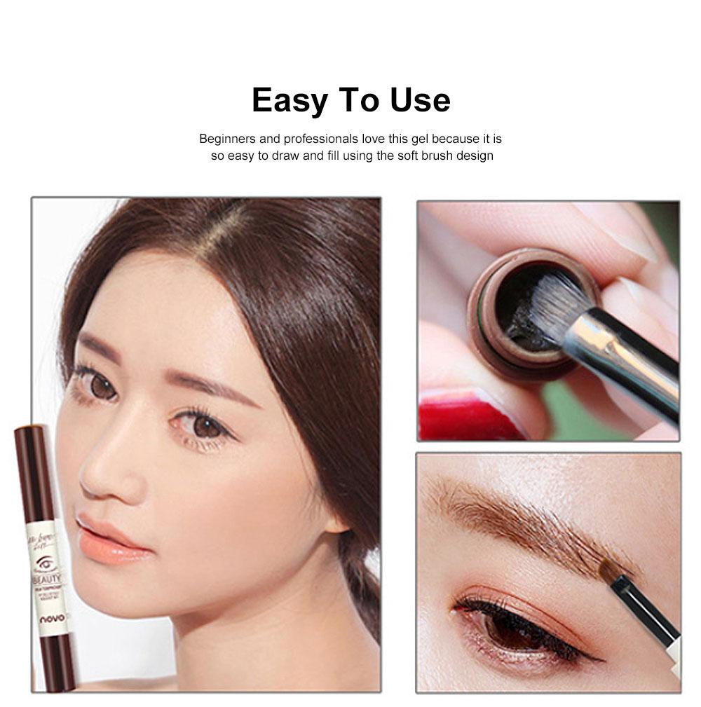 Natural Eyebrow Gel Waterproof Ink Gel Tint Makeup Tool Long Lasting Smudge-Proof Defined Eyebrow Cosmetic 1