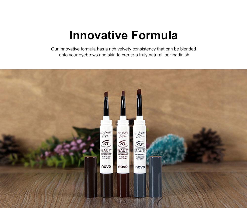 Natural Eyebrow Gel Waterproof Ink Gel Tint Makeup Tool Long Lasting Smudge-Proof Defined Eyebrow Cosmetic 3