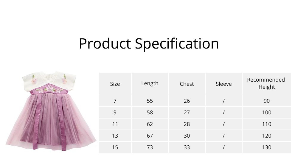 Han Chinese Clothing for Girls V Collar Flower Adornment Ribbon Chinese Characteristics Skin-friendly and Comfortable Dress 6