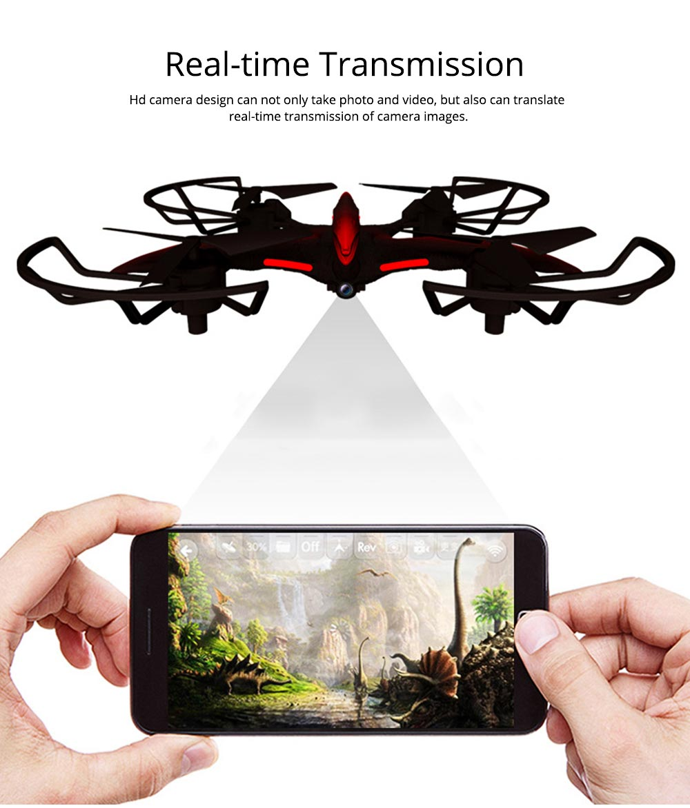 WIFI Aerial Vehicle for Photography Enthusiast Multifunctional Flying Camera with HD Camera Handle Shank Aerial Photo Machine 3