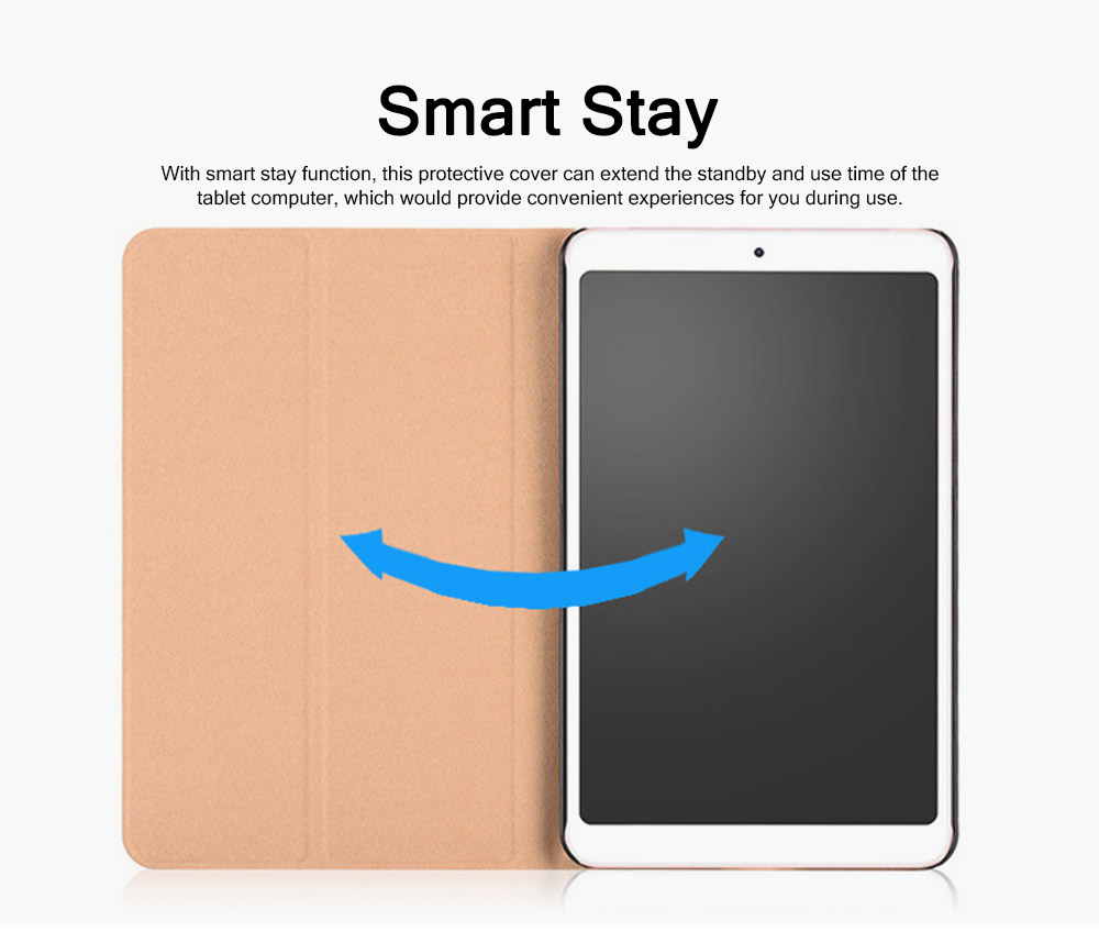 For Xiaomi 4 Protective Case, 8 Inch Xiaomi Pad 4 Smart Flip Protection Cover Holder Auto Sleep Wake Leather Case 3