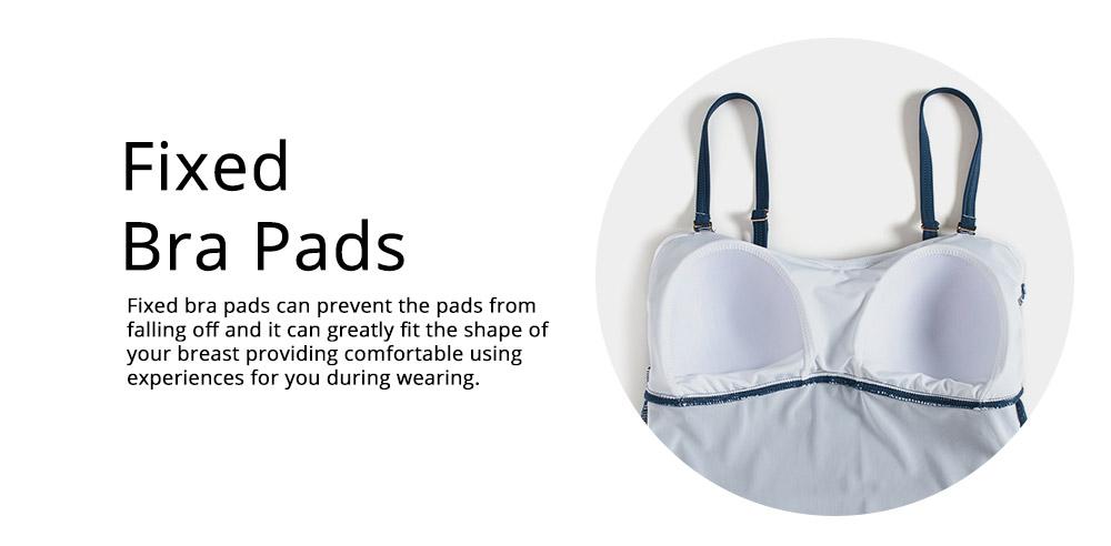 Minimalist Stylish Pure Color Slim Fit Ladies Separates Swimwear Smooth Soft Quick Dry Swimsuit Bikini for Women 3