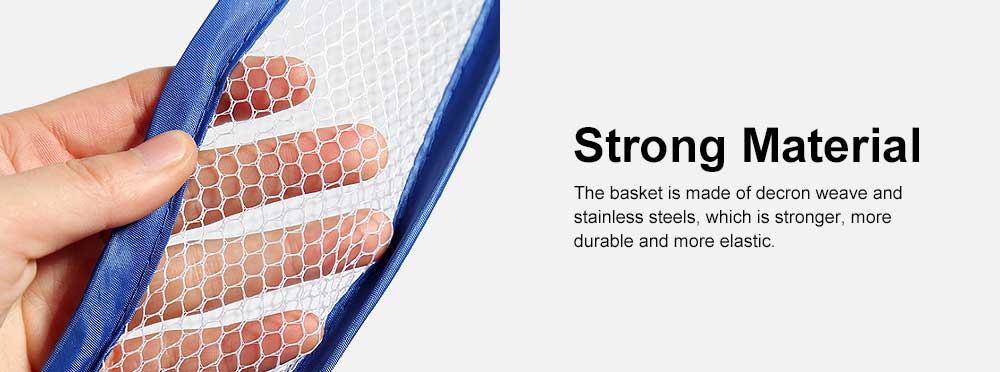 Foldable Drying Basket Hanging Net Retractable Drying Rack for Clothes, Underwear, Bra, Socks, Sweaters, Single, Double-Layer Drying Basket Net 3