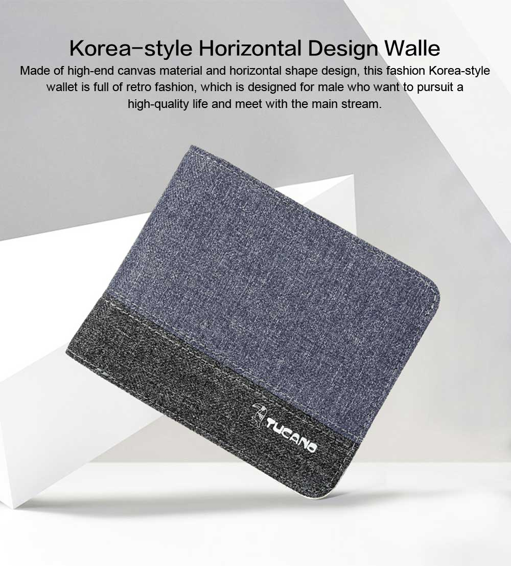 Horizontal Design Short Male Wallet New Designed Cash ID Card Wallet for Men Retro Wallet 0