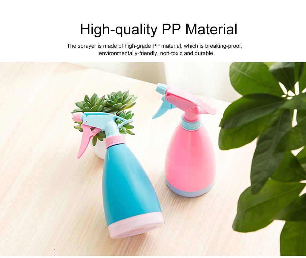 Minimalist Candy Color Gardening Handheld Sprayer, Breaking-proof PP Hand Pressure Pump Watering Trigger Bottle 1