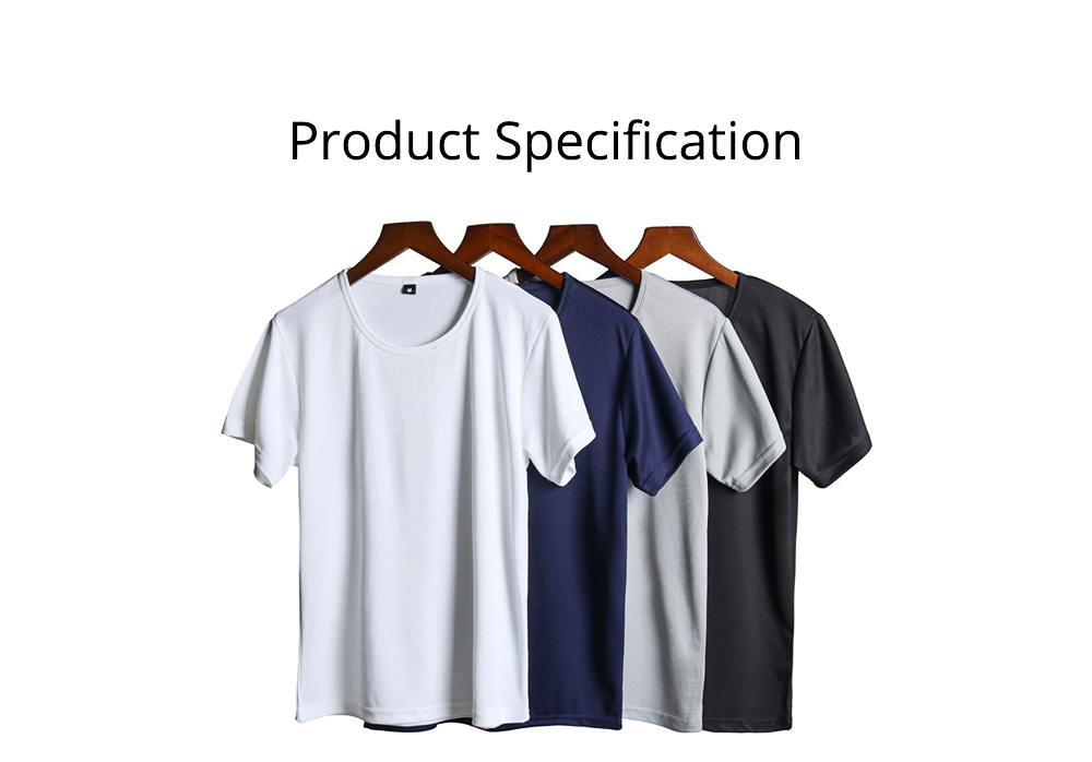 New Men's Short Sleeve T-shirt in Summer of 2019 Creative Waterproof and Antifouling Trend T-shirt 8