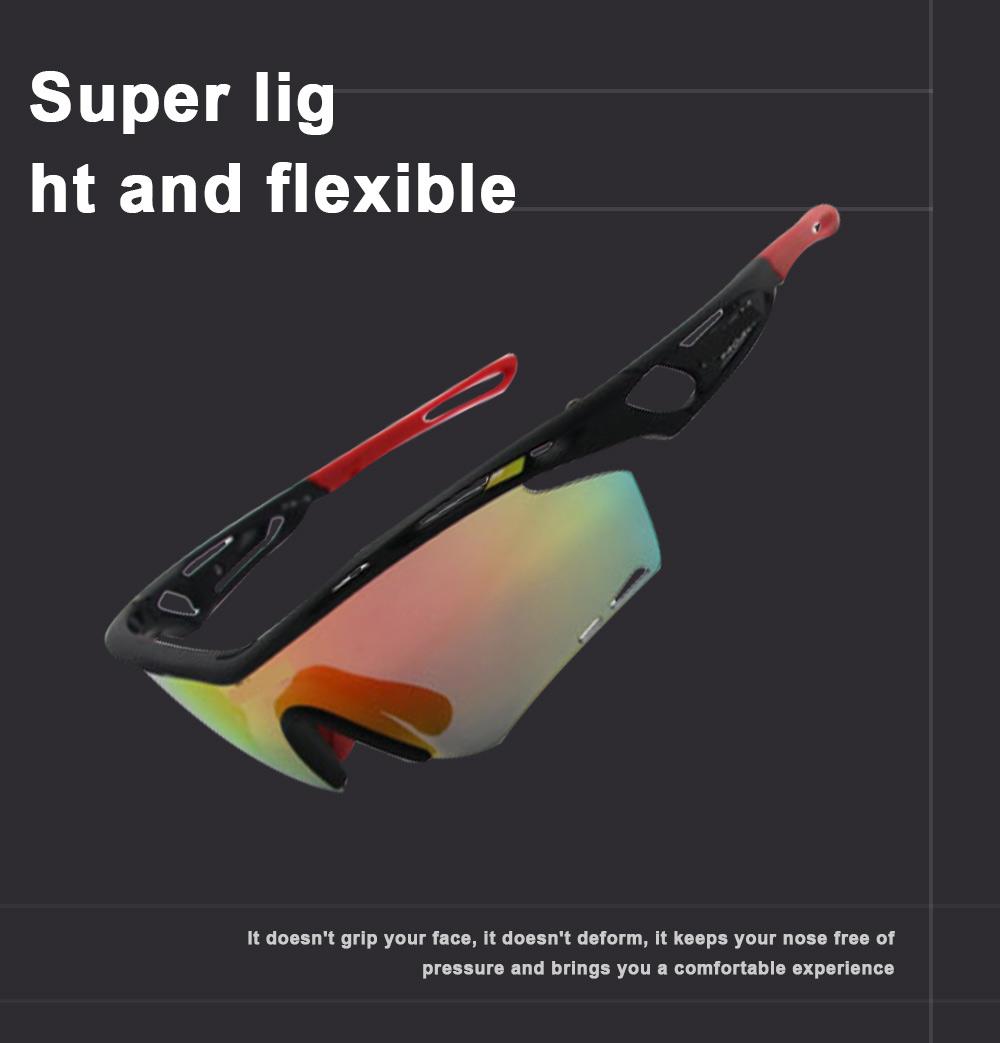 Colourful Outdoor Biking Glasses Sports Outdoor POC Riding Glasses Sandproof Sunglasses 1