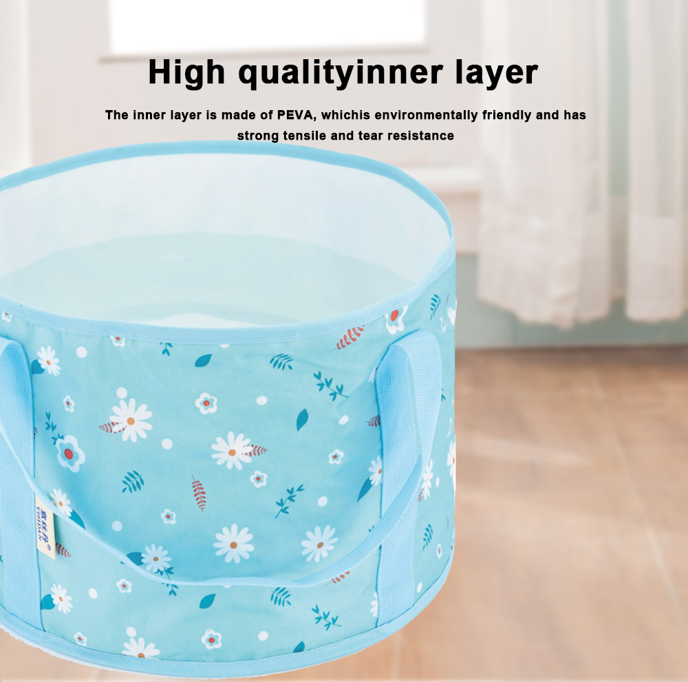 Multifunctional Outdoor Foldable Basin Portable Ultra-Light Water-Dripping Non-Leakage Folding Basin for Outdoor Camping Supplies Equipment 3