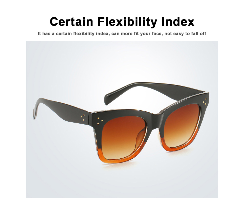 Wind Trend Large Frame Sunglasses in Europe and America Fashion box Sunglasses for Network Red Man Street Photography 5