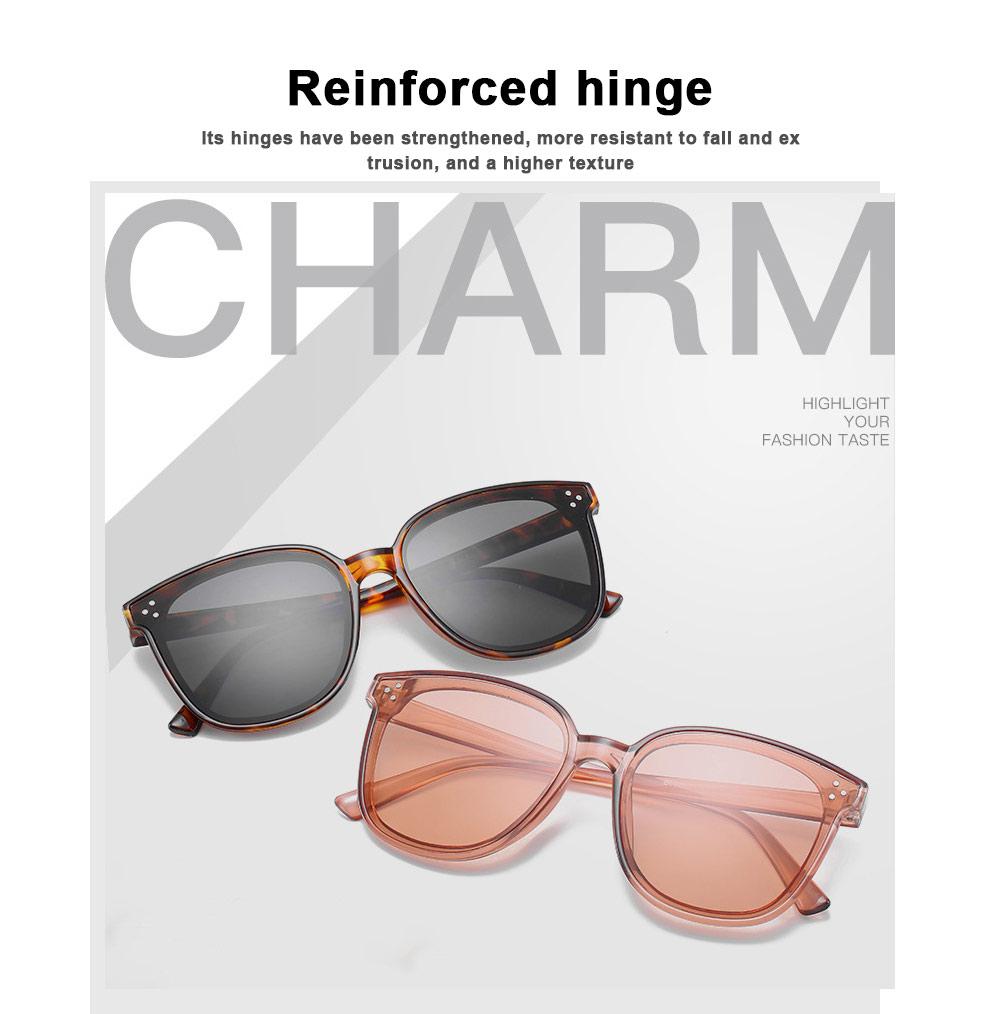 Gm Sunglasses Anti-ultraviolet Box Network Red Man V Brand Sunglasses, Stars With The Same Trendy Sunglasses, Retro Box Classic Trendy Sunglasses 3