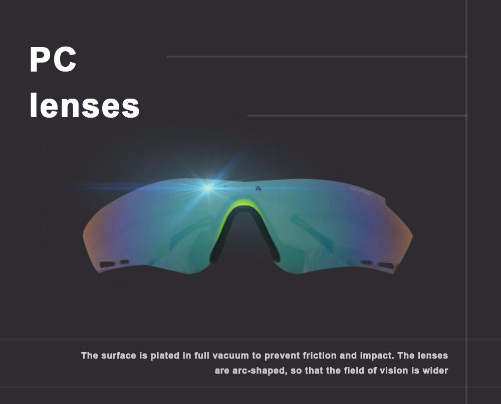 Colourful Outdoor Biking Glasses Sports Outdoor POC Riding Glasses Sandproof Sunglasses 3